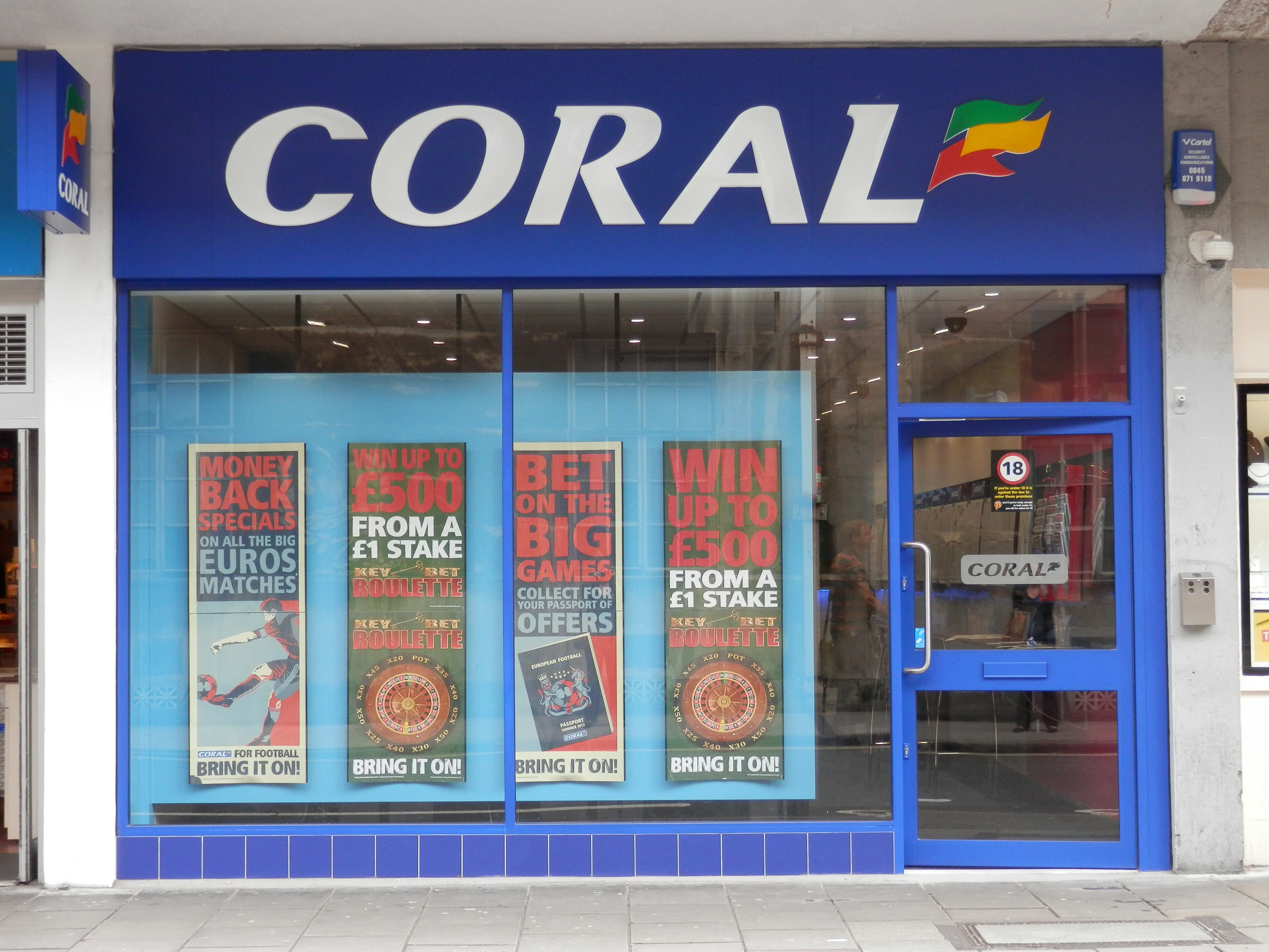 Coral betting shops bristol bet no longer on direct tv