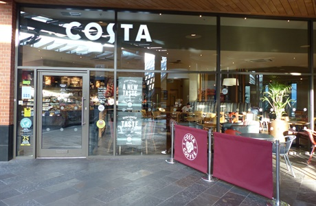 Costa Cabot Circus Level 1 Bristol Shopping Quarter