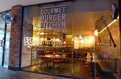 Gourmet Burger Kitchen Cabot Circus Bristol Shopping Quarter