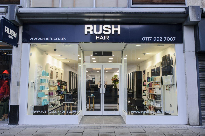 Rush Hair Bristol Shopping Quarter