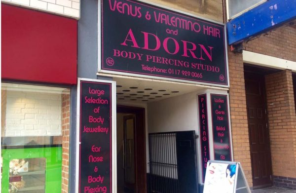 adorn body piercing studio bristol shopping quarter