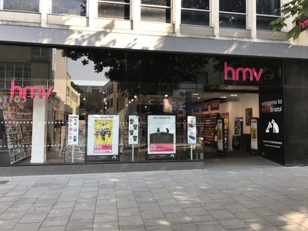 Hmv Bristol Shopping Quarter