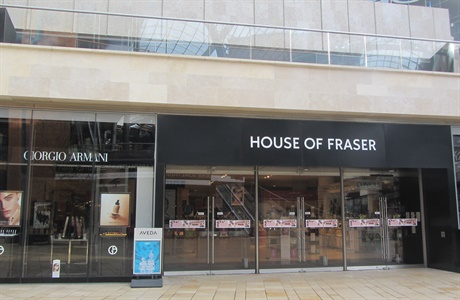 House Of Fraser Bristol Shopping Quarter