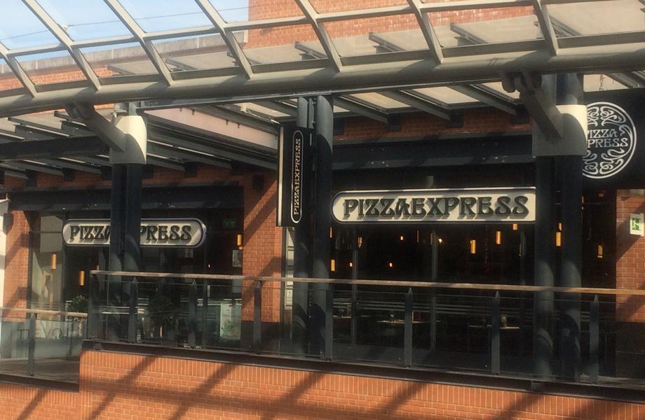 Pizza Express Bristol Shopping Quarter
