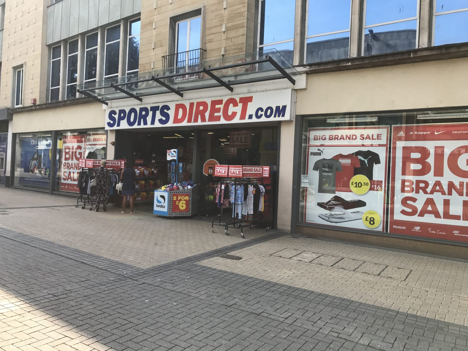 Sports Direct Erfahrungen