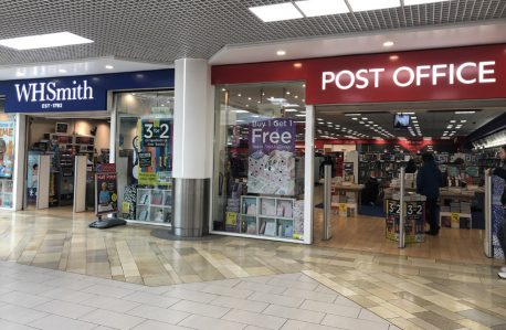 WHSmith and Post Office
