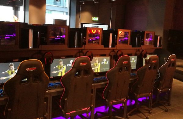 gaming arenas