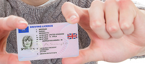 Renew your driving license at the Post Office