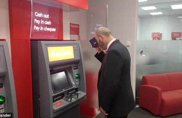 Talking ATMs
