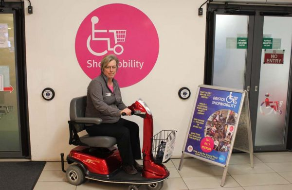 Bristol Shopmobility, improving accessibility for all