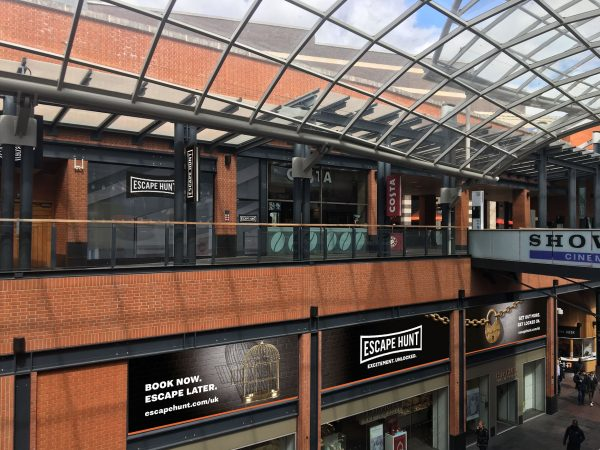 Escape Hunt at Cabot Circus
