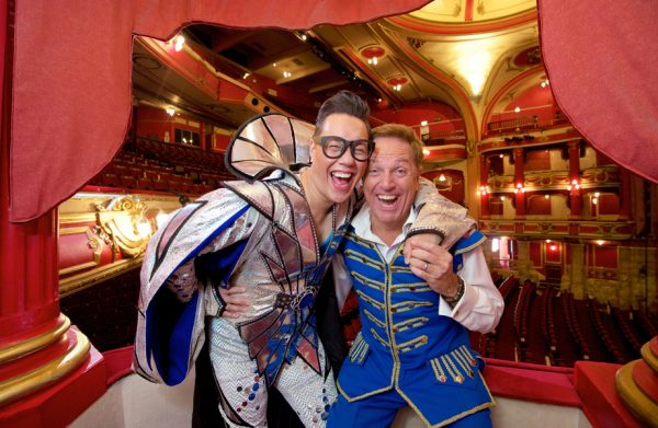 Gok Wan and Brian Conley