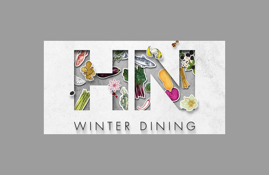 winter dining at Harvey Nichols