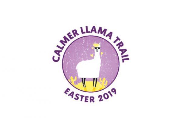 Easter - calmer llama trail