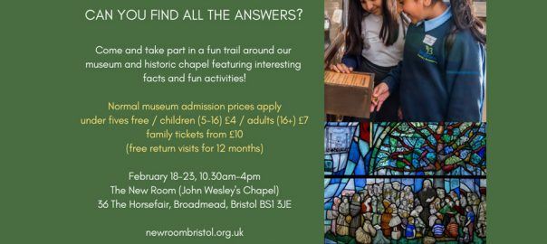 half term quiz trail at the New Room