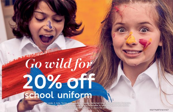 M&S school uniform offer