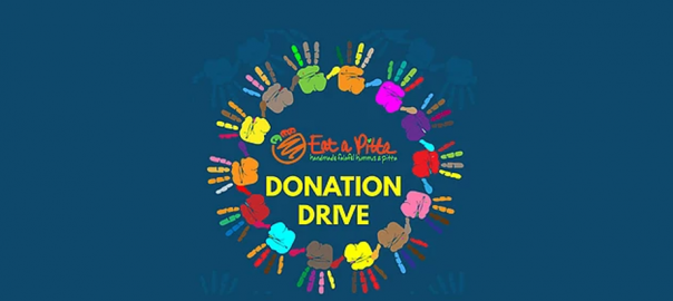 Eat a Pitta donation drive