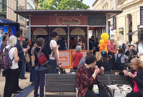 Eat a Pitta re-opening in Broadmead