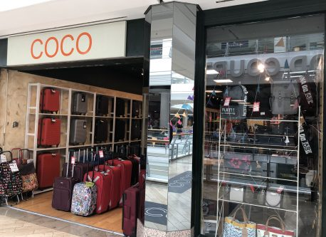 bc86425a0938 This branch of Coco sells luggage and bags