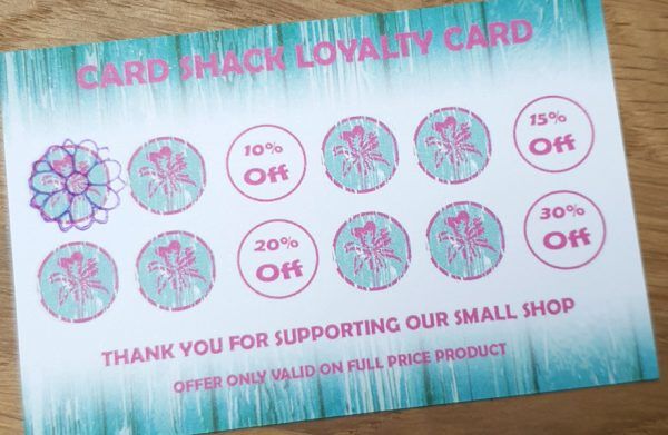 card shack loyalty card