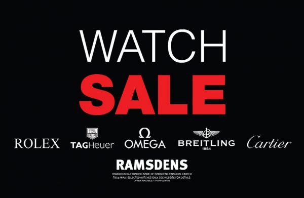 ramsdens watch sale
