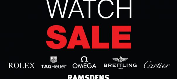 ramsdens watch sale