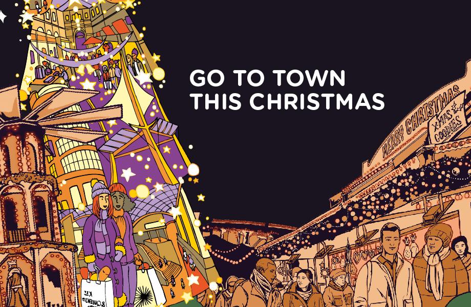 Christmas Bristol Shopping Quarter