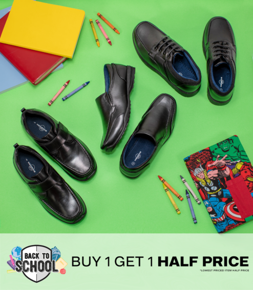 Buy 1 get 1 half price at Deichmann